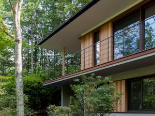外観: 安藤貴昭建築設計事務所が手掛けた家です。