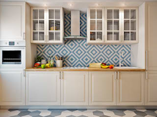 CO:interior Eclectic style kitchen