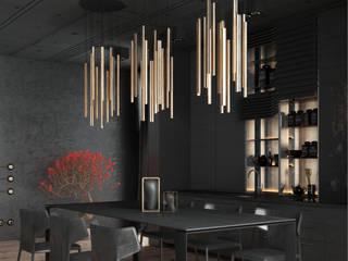 Урбанистичный лофт: Кухни в . Автор – ANNA KUKHARUK interior designer,