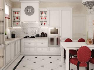 Дизайн интерьера частного дома: Кухни в . Автор – ANNA KUKHARUK interior designer