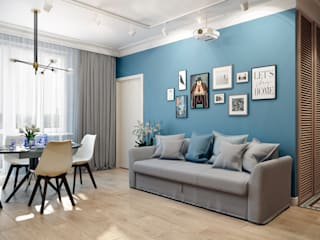 CO:interior Living room Blue