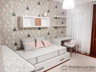 Projecto Quarto de meninas:   por Andreia Louraço - Designer de Interiores (Contacto: atelier.andreialouraco@gmail.com)