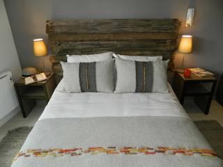Dormitorio principal: Dormitorios de estilo rústico por DDO Diseño