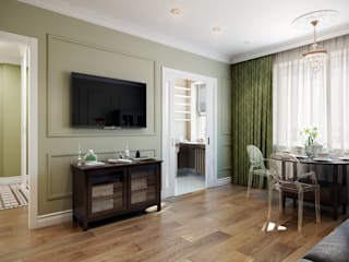 CO:interior Classic style living room Green