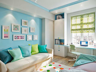 CO:interior Nursery/kid's room Blue