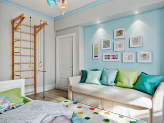 CO:interior Nursery/kid's room White