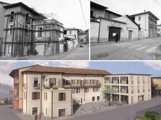 Recupero immobile residenziale Sabbio Chiese:  in stile  di Gianfranco Sangalli Architetti, Classico