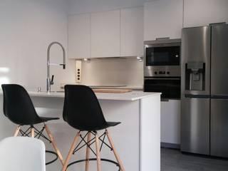 una cocina muy especial Cocinas de estilo moderno de Lumber Cocinas Moderno