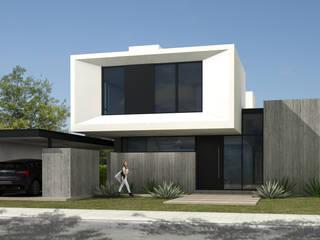 113VAR: Casas unifamiliares de estilo  por JAMStudio