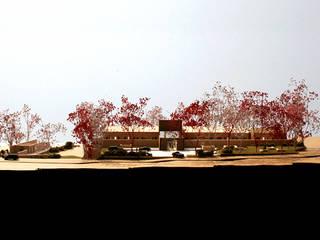 강원도 교육센터: (주)건축사사무소 예인그룹의  계단