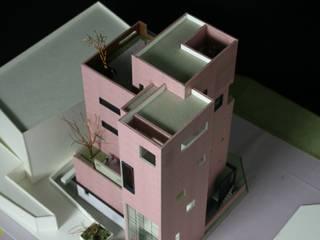 토정동 근린생활시설: (주)건축사사무소 예인그룹의  계단