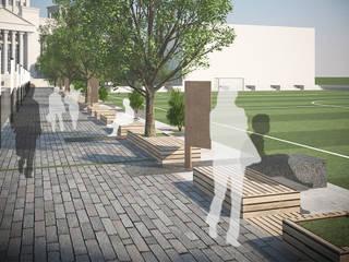 대학교 환경개선: (주)건축사사무소 예인그룹의  계단