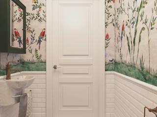 Salle de bain méditerranéenne par Diveev_studio#ZI Méditerranéen