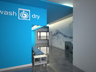 Lavandaria Wash&Dry por PROJETARQ