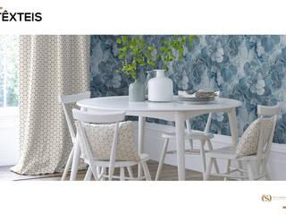 Têxteis: Salas de jantar  por MY STUDIO HOME - Design de Interiores