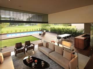 M2 HOUSE Modern balcony, veranda & terrace by Hernandez Silva Arquitectos Modern
