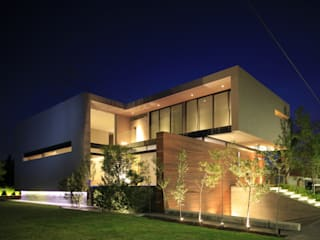 M2 HOUSE Casas modernas por Hernandez Silva Arquitectos Moderno