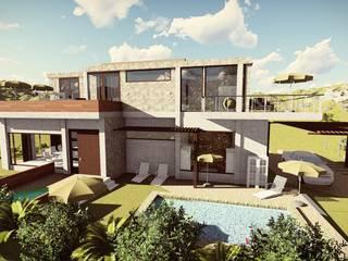 Casa Moncada: Casas ecológicas de estilo  por Arquitectura su c,