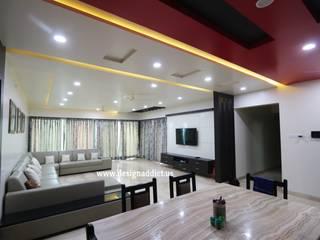 Living room interior design:  Living room by Designaddict