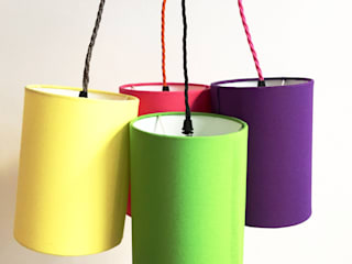 Mix & Match lampshades:   by bymarie