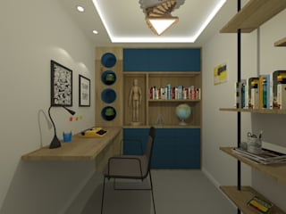 Home Office:   por Barbara Cardoso Interiores,Moderno