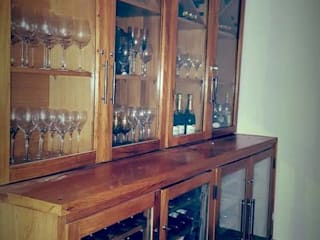 EDR - Adegas Climatizadas Wine cellar Solid Wood Wood effect