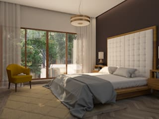 Bedroom by NVT Quality Build solution