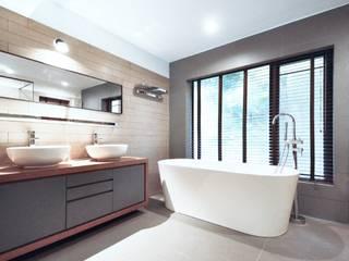 Modern bathroom by Nomad Office Architects 覓 見 建 築 設 計 工 作 室 Modern