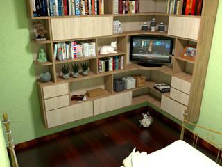 Projeto Residência em Macacos - Interiores - Mobiliário por W.Costa Arquitetura, Urbanismo & Sustentabilidade Rústico