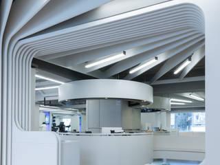 Nomad Office Architects 覓 見 建 築 設 計 工 作 室 Ruang Komersial Minimalis Kayu Lapis White