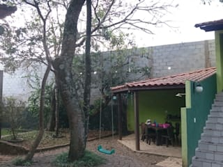 Pintura de muro Jardins de inverno campestres por W.Costa Arquitetura, Urbanismo & Sustentabilidade Campestre