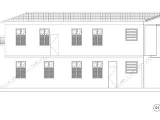 Reforma com acréscimo de área em casa conservada pelo IPHAN- Santo Cristo - RJ por W.Costa Arquitetura, Urbanismo & Sustentabilidade Clássico