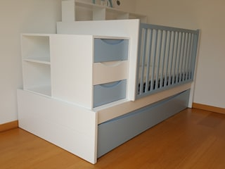 Nursery/kid's room by FlyBaby, Modern