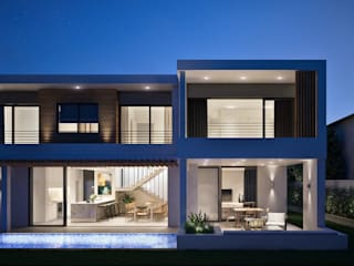 The Arin:  Houses by Cleo Architecture Studio,