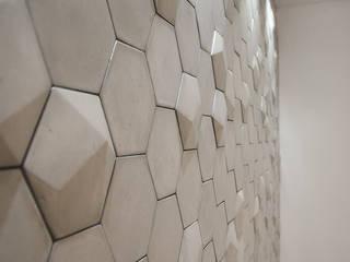 Detalle Sala de Reuniones:  de estilo  por Casa Meva Estudio