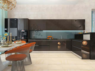 ДизайнМастер Built-in kitchens Beige