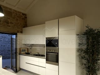 Minimalist kitchen by spacelovers Minimalist
