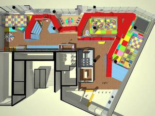 일산 어린이 놀이터: (주)건축사사무소 예인그룹의  계단