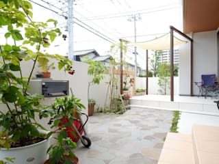 Eclectic style garden by 株式会社 風知蒼 Eclectic