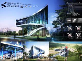 Global Fair & Festival 2009 Housing Incheon: (주)건축사사무소 예인그룹의  계단