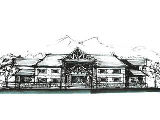 오렌지 클럽하우스 : (주)건축사사무소 예인그룹의  계단
