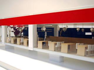 명동 음식점 인테리어: (주)건축사사무소 예인그룹의  계단