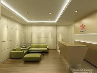 부산 DK 드림코리아 오피스/사무실 인테리어 - 노마드디자인  : 노마드디자인 / Nomad design의  계단