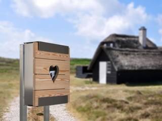 glasnost.wood.larch.heart:  Häuser von keilbach designprodukte