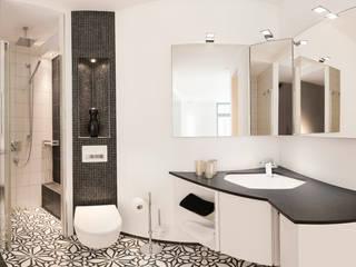 Der Nischenspezialist: moderne Badezimmer von Badmanufaktur H&S GmbH