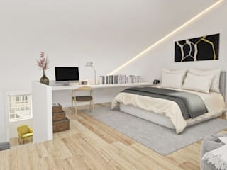 Modern style bedroom by Onstudio Lda Modern