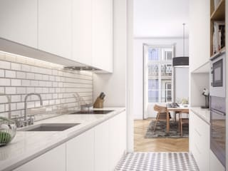 Modern kitchen by Onstudio Lda Modern