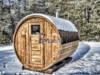 Outdoor saunas for sale TimberIN hot tubs - outdoor saunas SpaFurniture