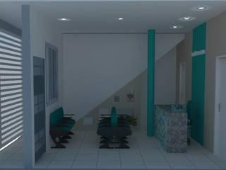 Consultório Odontológico Clínicas modernas por Mariana Bittencourt Arquitetura Moderno