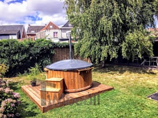Wood fired hot tubs for sale TimberIN hot tubs - outdoor saunas SpaPool & spa accessories